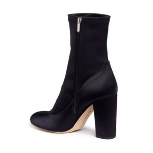 Sam Edelman Calexa Bootie in Black Satin